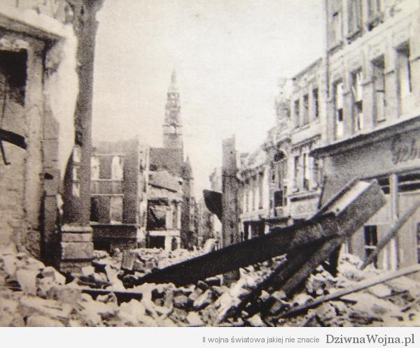 Szczecin ruiny 1945
