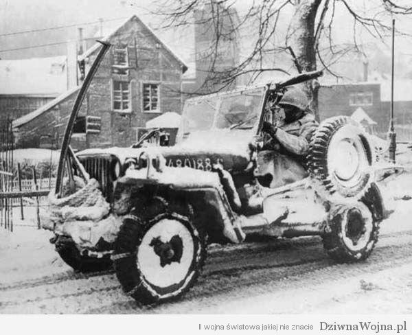 Willys MB Ardeny 1945
