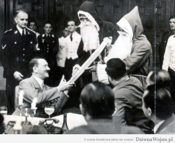 Adolf Hitler i dwoch Mikolajow Berlin 1937