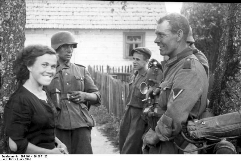 """Russland, """"Unternehmen Barbarossa"""", Rast"""