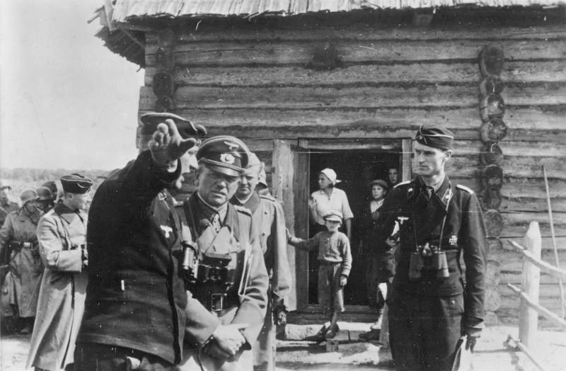 Russland, Heinz Guderian vor Gefechtsstand