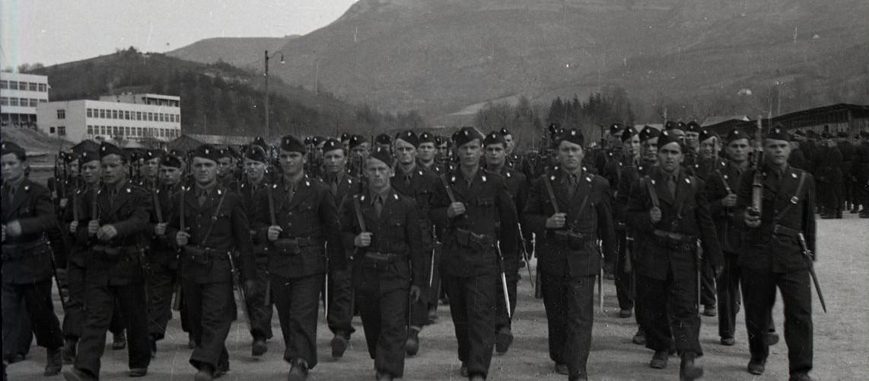 Jednostka ustaszy w Sarajewie, rok 1942